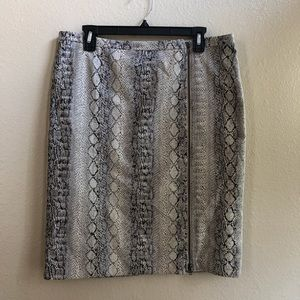 Focus lifestyle snake animal print skirt
